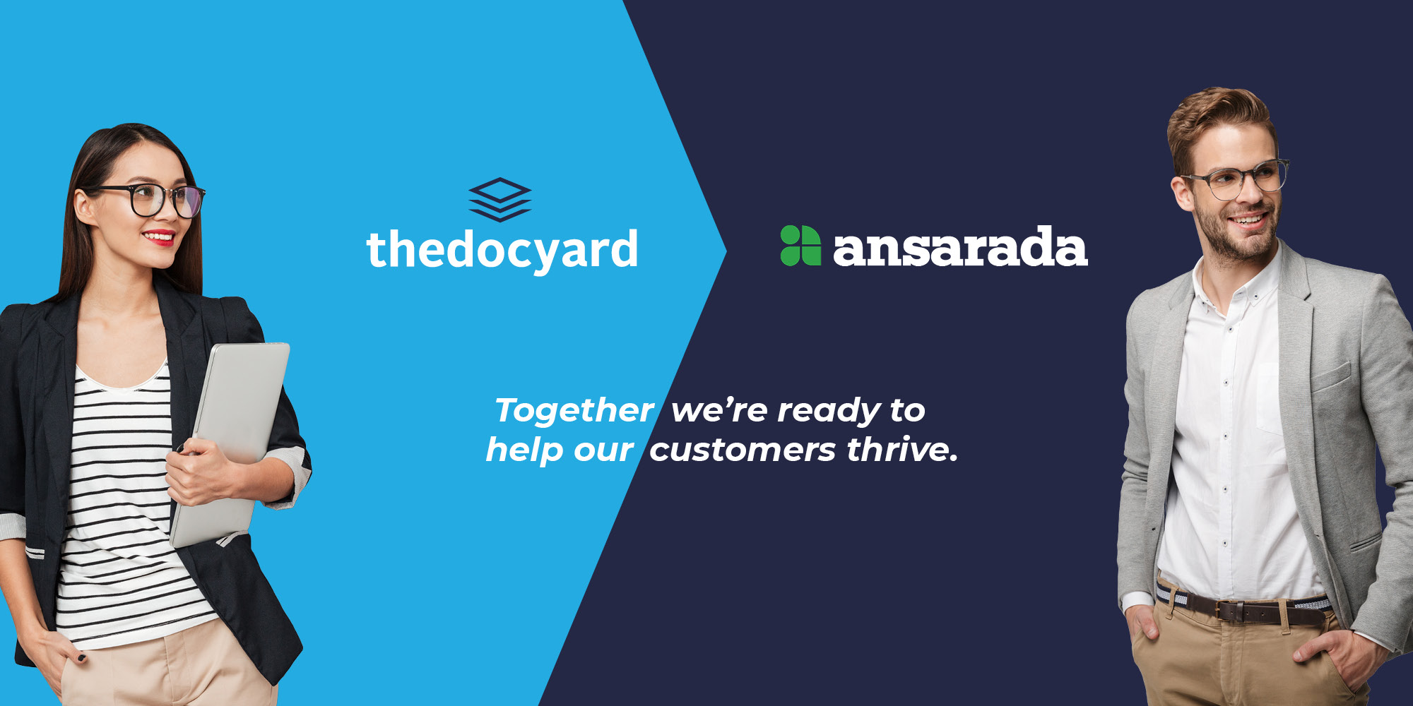 thedocyard joins forces with Ansarada | Blog